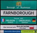 Farnborough Ortsschild