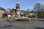 Clockhouse, ein weithin bekanntes Wahrzeichen von Rushmoor