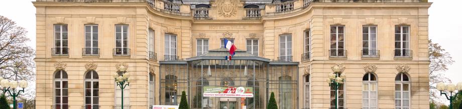 Das Rathaus von Épinay-sur-Seine