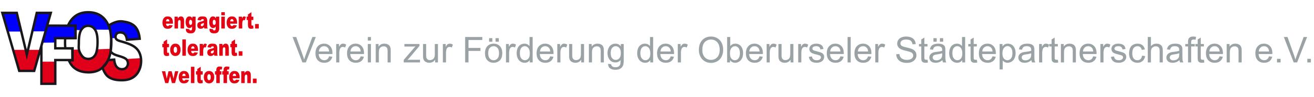 VFOS - Verein zur Förderung der Oberurseler Städtepartnerschaften e.V.